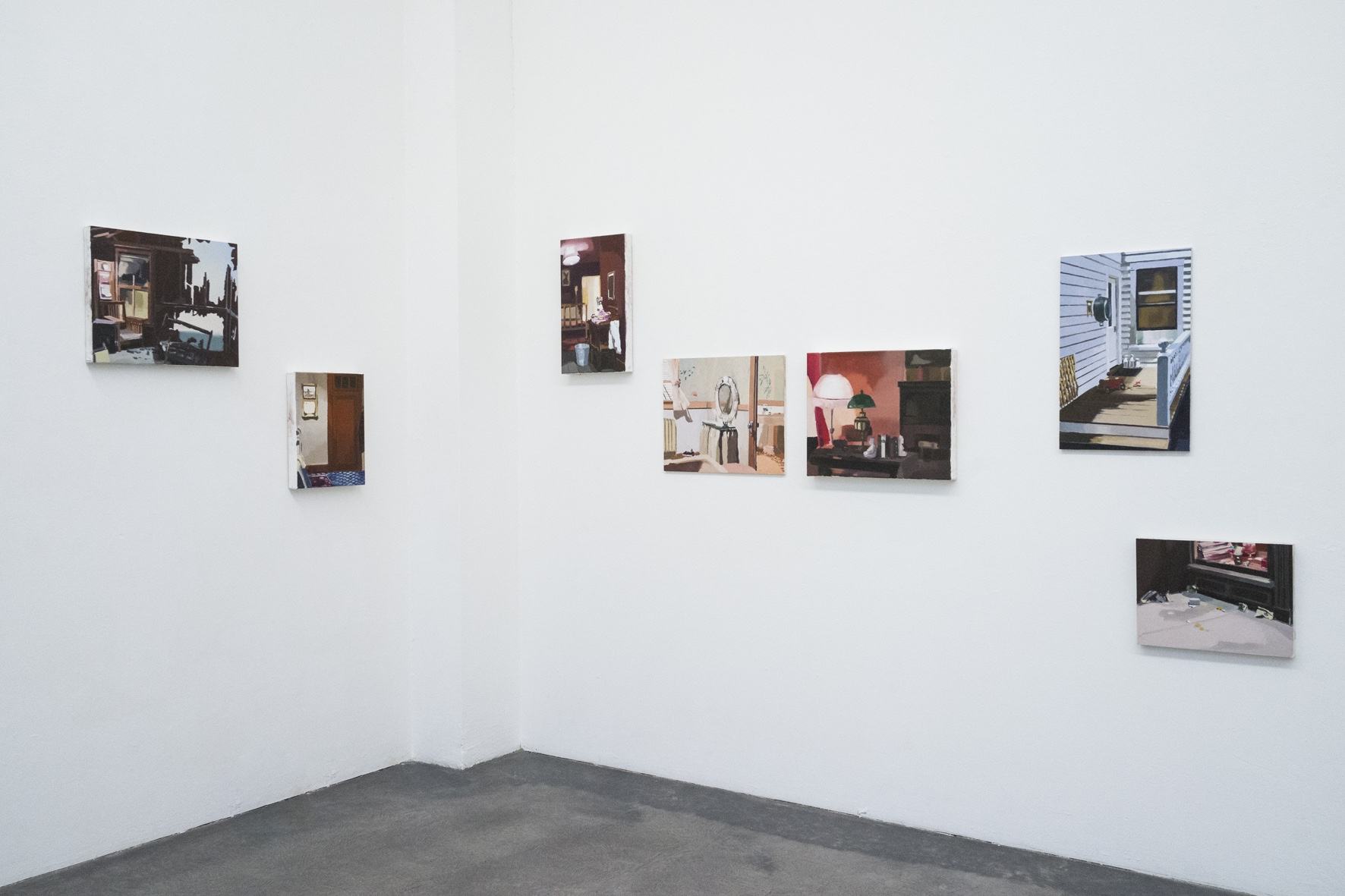 Galerie Nanna Preußners: Mindscapes, 2017, curated by Nikola Irmer